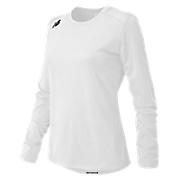 Long Sleeve Tech Tee, White