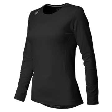 New Balance NB LS Compression Top, Team Black
