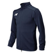 Youth NB Knit Training Jacket, Navy