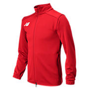 Youth NB Knit Training Jacket, Red