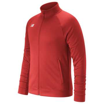 Youth Knit Training Jacket, Team Red