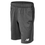 NB Youth Tech Short, Dark Heather Grey
