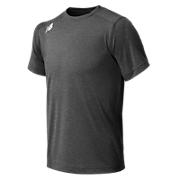 Youth Short Sleeve Tech Tee, Dark Heather Grey