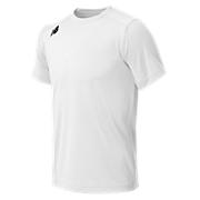 Youth Short Sleeve Tech Tee, White