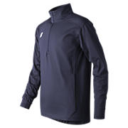 Youth Lightweight Solid Half Zip, Team Navy