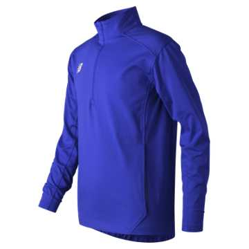 Youth Lightweight Solid Half Zip, Team Royal