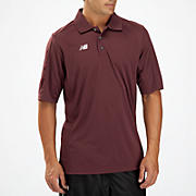 Solid Short Sleeve Polo, Team Maroon