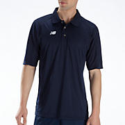 Solid Short Sleeve Polo, Team Navy