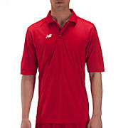 Solid Short Sleeve Polo, Team Red