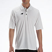 Solid Short Sleeve Polo, White