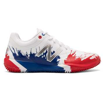 4040v5 Turf Playoff Pack, Red with Royal Blue