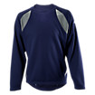 Performance Fleece Pullover, Team Navy with Athletic Grey