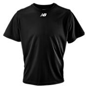 Short Sleeve Power Top, Team Black