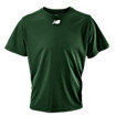 Short Sleeve Power Top, Team Dark Green
