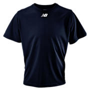 Short Sleeve Power Top, Team Navy