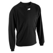 Long Sleeve Power Top, Team Black