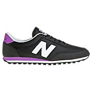 New Balance 410, Black with White & Purple