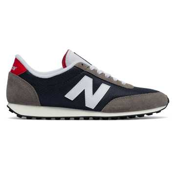 New Balance 410 70s Running, Blue with Grey & Red