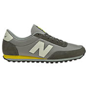 New Balance 410, Grey with Yellow & White