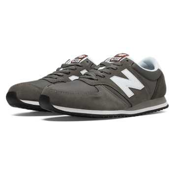 New Balance 420 70s Running, Grey with White