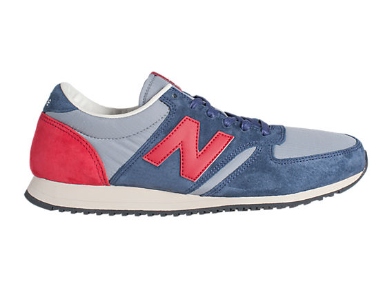 New Balance U420 Grey Red Blue New Balance 420 Blue With Red