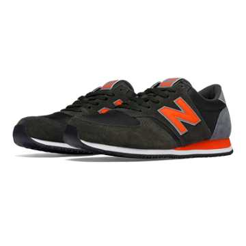 New Balance 420 70s Running Textile, Green with Orange