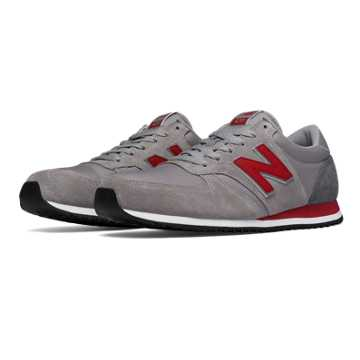 New Balance 420 70s Running Textile, Grey with Burgundy