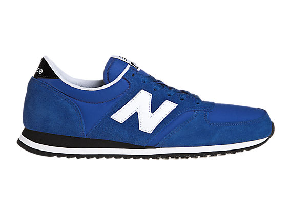 New Balance 420, Blue with White & Black