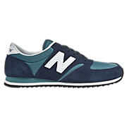 New Balance 420, Blue with Navy & White