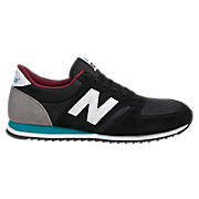 New Balance 420, Black with White & Teal
