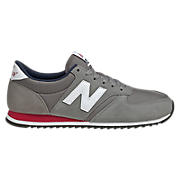 New Balance 420, Grey with Red & Navy