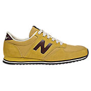 New Balance 420, Yellow with Burgundy