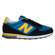New Balance 430, Black with Blue & Yellow