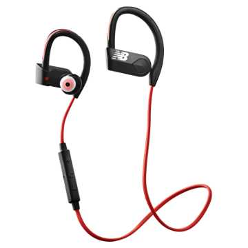 New Balance NB PaceIQ Earbuds, Red