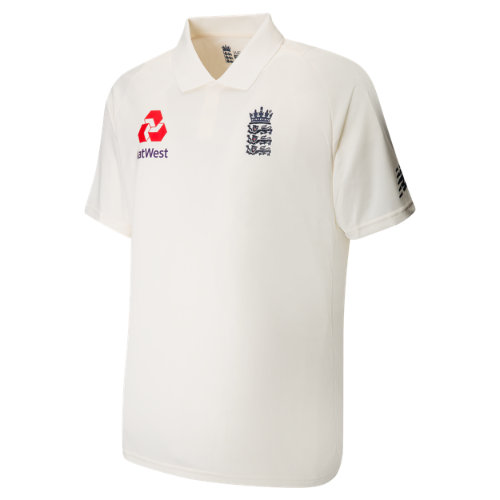 New Balance Replica Short Sleeve Polo Test Junior Unisex Cricket - CJT7013AGA