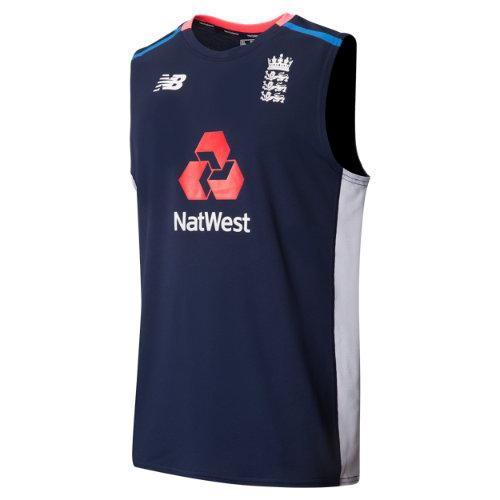 New Balance Training Short Sleeve Tee Boy's England Cricket - CMT7048PGM