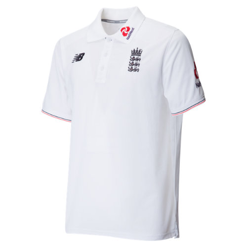 New Balance : Training Media Polo : Men's Training & Teamwear : CMT7062WT