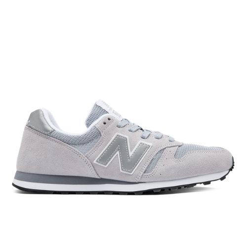 New Balance 373 Modern Classics Chaussures - Grey/Silver (Taille EU 39.5 / UK 6)