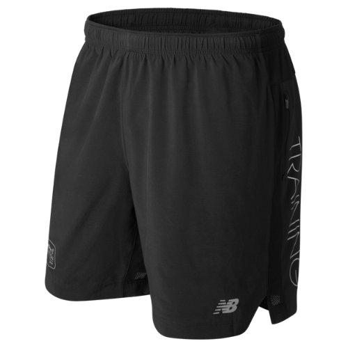 New Balance : London Edition Impact 7 Inch Short : Men's Performance : MS73237DTBK