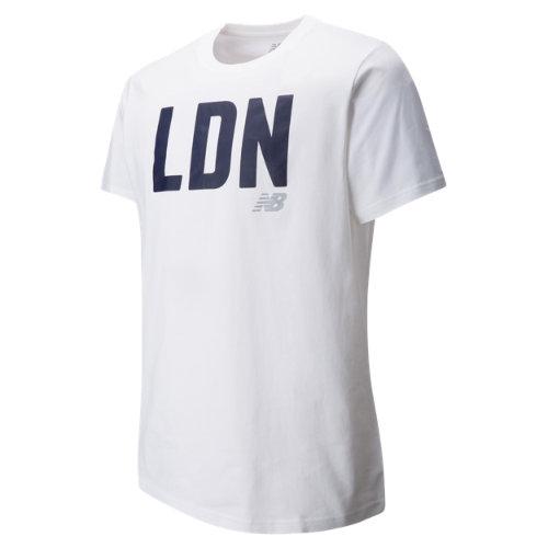 New Balance : Mens London Tee : Men's Apparel Outlet : MT63570WT