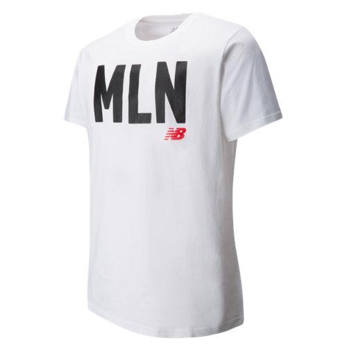 New Balance : Mens Milan Tee : Men's Apparel Outlet : MT63572WT