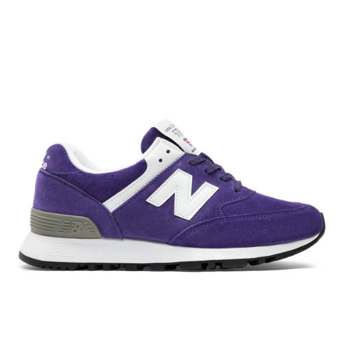 New Balance Made in UK 576 Colour Circle Chaussures - Blackberry/White (Taille EU 41 / UK 7.5)