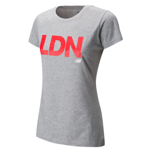 New Balance : Womens London Tee : Women's Apparel Outlet : WT63560AG