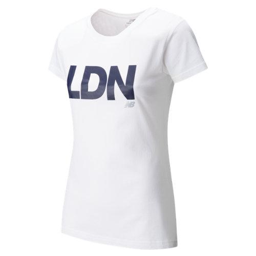 New Balance : Womens London Tee : Women's Apparel Outlet : WT63560WT