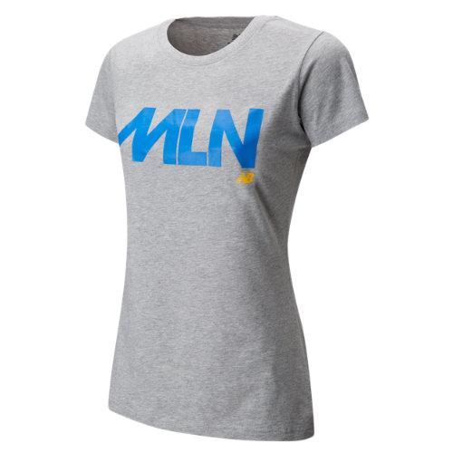 New Balance Womens Milan Tee Girl's Clothing - WT63562AG