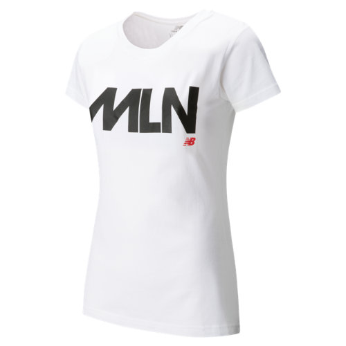 New Balance Womens Milan Tee Girl's Clothing - WT63562WT