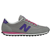 New Balance 410, Grey with Purple & Pink