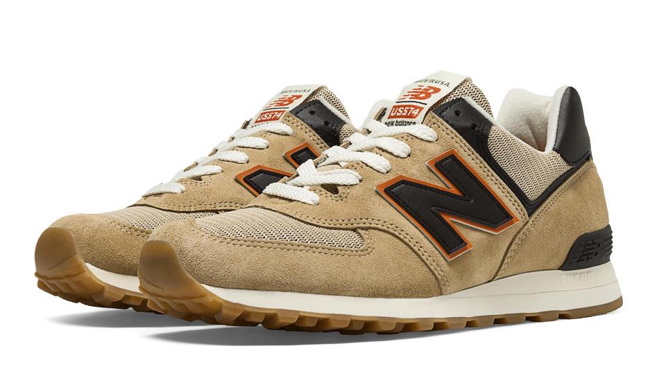 tan new balance 574