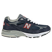 Women's Coast Guard 993, Coast Guard Navy with Grey & Red