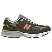 Women's Marines 993, Marines Green with Grey & Red